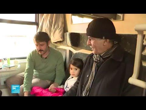 بعد الزلزال.. أتراك يلجؤون إلى القطار ومحطته للسكن  - نشر قبل 8 دقيقة