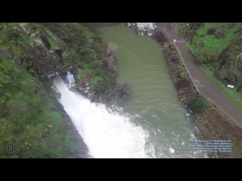 Thumbnail: Drone Captures 'Glory Hole' Spillway at Lake Berryessa Overflowing