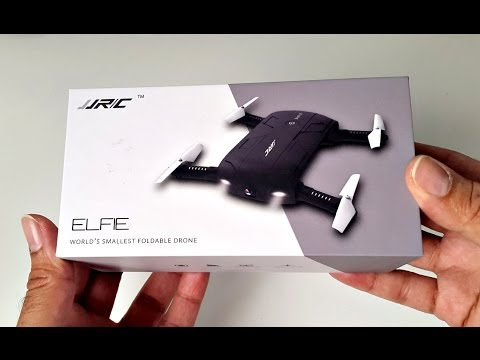 Worlds Smallest Foldable Drone Smart WiFi Built In Camera