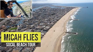 Helicopter View of SoCal Beaches | Huntington, Newport, Dana Point