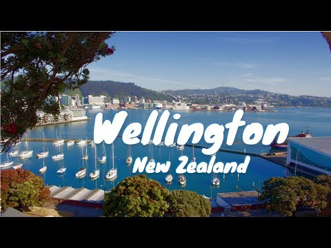 Wellington - Top Tourist Attractions of New Zealand's Windy Capital [Full HD]