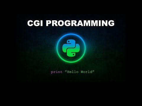 Basic CGI Programming - Python Programming