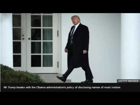 White House to keep visitor logs secret
