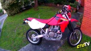 Honda Xr650 - Rejetted Carby TestRide