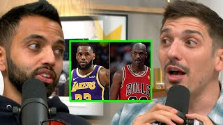 The 1 Reason Lebron Thinks He's Better Than Jordan | Andrew Schulz and Akaash Singh