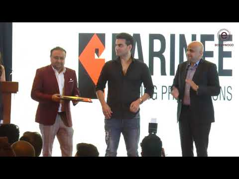 Arbaaz Khan At Parinee Building  Proportions Event - Business Event Presenting Honour | e-Bollywood