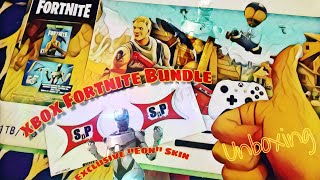 "*UNBOXING* XBOX one S ""Fortnite Bundle"" with exclusive ""Eon"" skin"