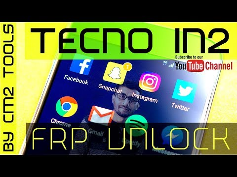 Full FRP Unlock Tecno In2 Mobile By CM2 Tools