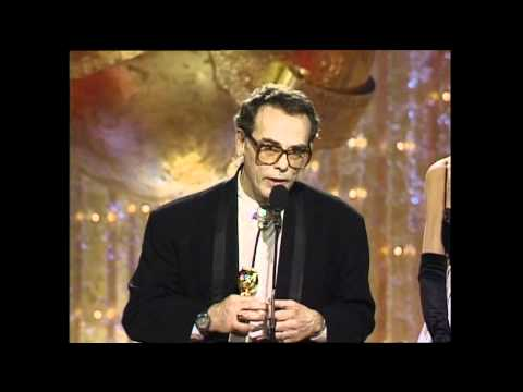 Dean Stockwell Wins Best Supporting Actor Mini Series - Golden Globes 1990