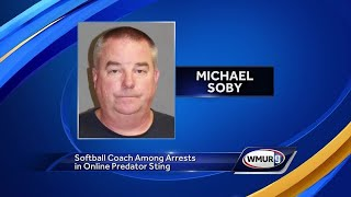 Softball coach accused of trying to solicit child online