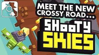 CROSSY ROAD IN A PLANE!   Shooty Skies iPhone, iPad & Android hands-on