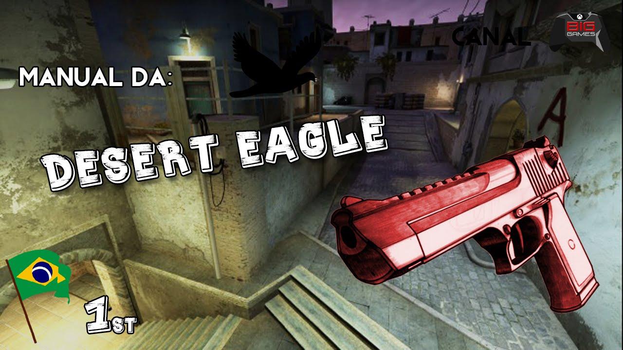 Oficina de armas manual da desert eagle 1 cs go youtube for Oficina armas