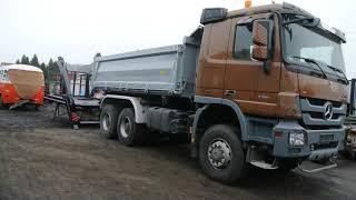 Odnowa mercedesa #mercedes#actros#renowacja#6x6#ciężarówka#tir#wywrotka#benz#truck