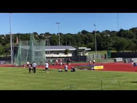 2016 Intertrust Games Javelin Guernsey All Comers Record