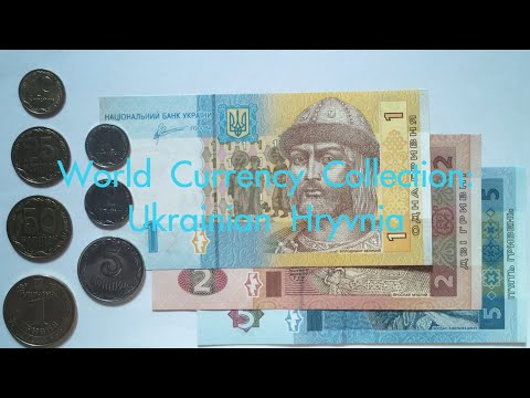 World Currency Collection: Ukrainian Hryvnia 🇺🇦