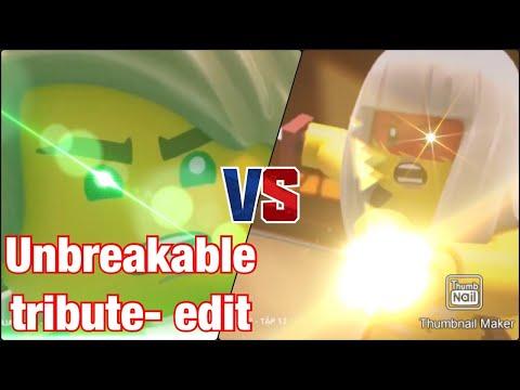 LEGO NINJAGO | Lloyd VS Harumi (Unbreakable) TRIBUTE EDIT (music video)