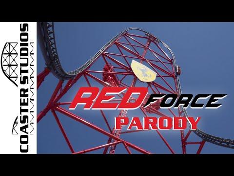 Coaster Parody: Red Force At Ferrari Land (PortAventura)
