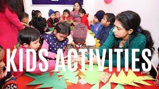 #Madangir #Pushpvihar #Saket   Kids Activities at NANKI KIDS WORLD in Madangir Pushp Vihar New Delhi