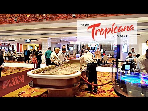 Walking thru Tropicana Las Vegas! 2017