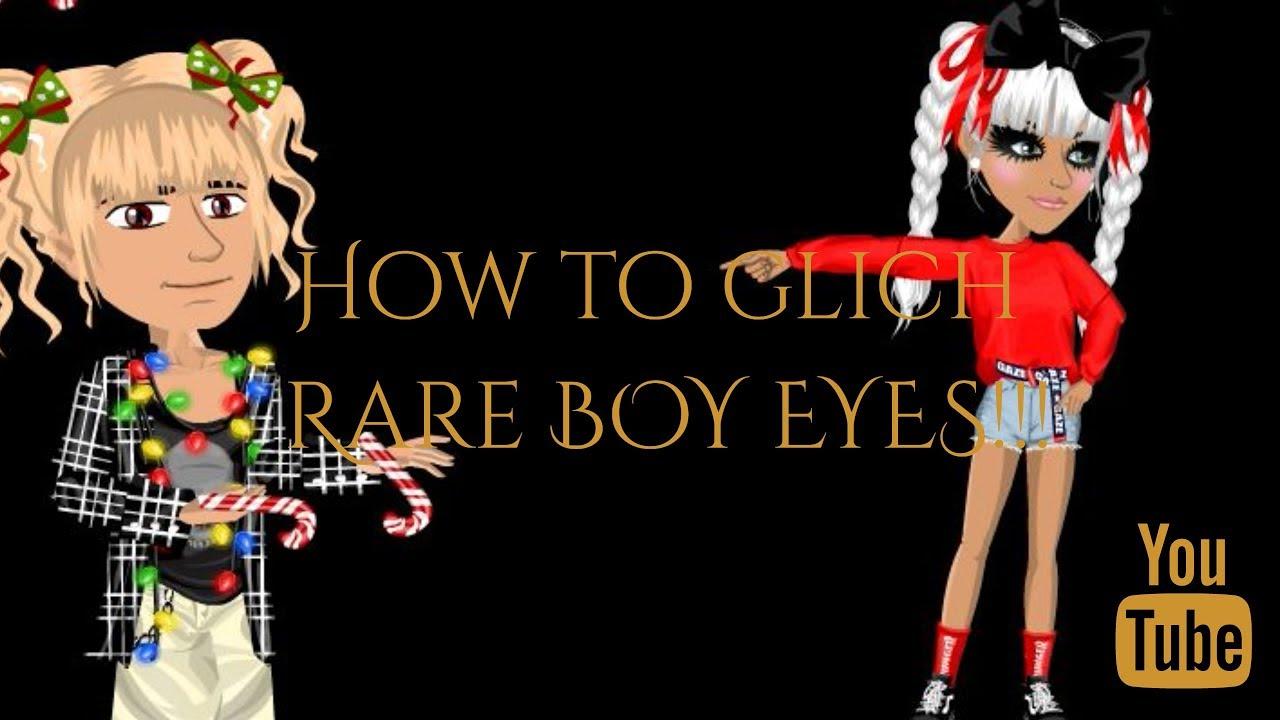 MSP Glitch rare boy eyes...easy