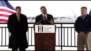 U.S. Sen. Tim Kaine visits Newport News Shipbuilding