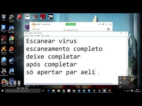 Ensinando A Usar O Avast Antivirus E Malware Bytes