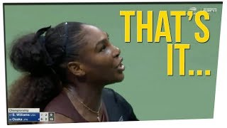 Tennis Umpires Considering Boycott on Serena Williams ft. Steve Greene & Nikki Limo