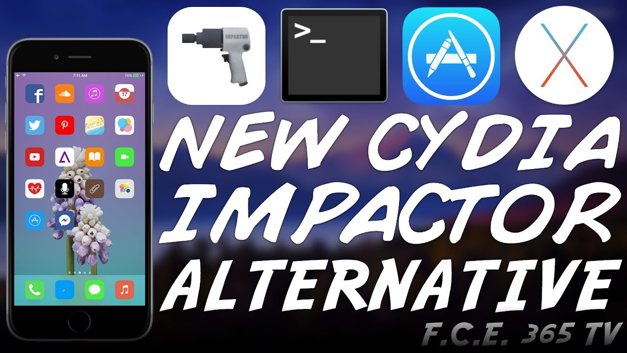 iOS 11 x/10 x New Cydia Impactor Alternative: Jtool With Signing Support