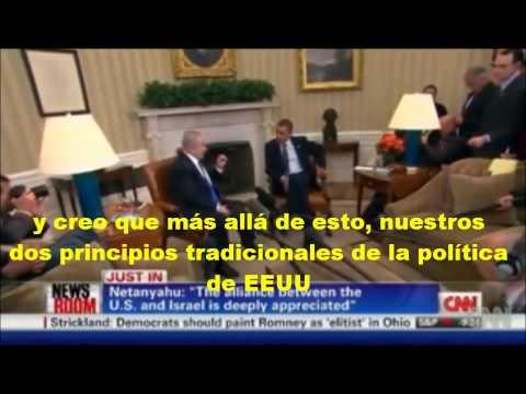 Netanyahu Obama subtitulado Español