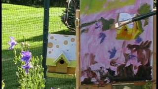 "Plein Air Oil Painting Demo ""the Birdhouse"" Watch In Hq (high Quality) By Ramona Dooley"