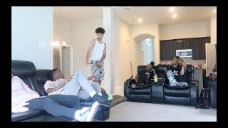 """TEXTING YOUR FRIEND"" PRANK ON BOYFRIEND!!! FT ARMON AND TREY"