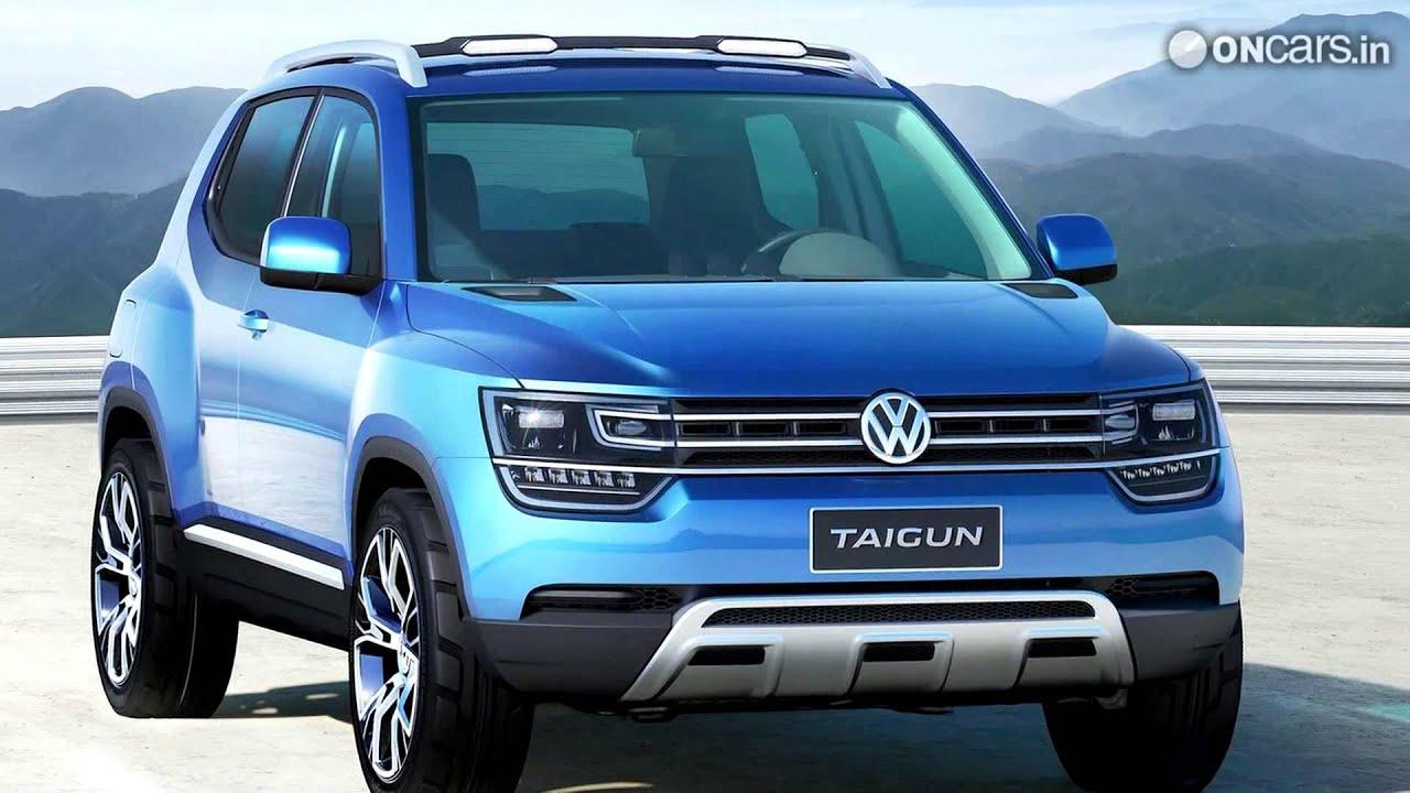 Volkswagen Taigun Compact Suv Concept Showcased Youtube