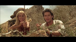 Sheena (1984) - 7 - Sheena sniper attacks the mercenaries