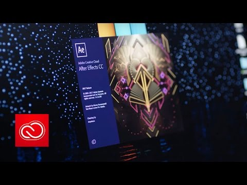 What's New in After Effects CC (April 2017) | Adobe Creative Cloud