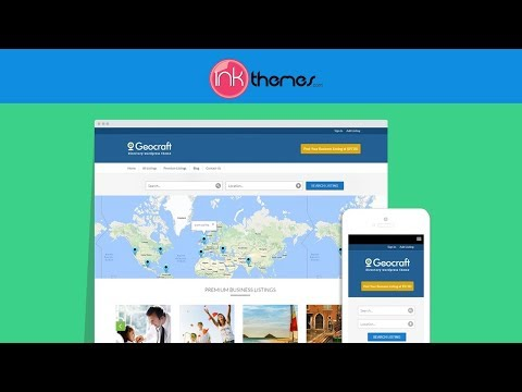 GeoCraft Directory WordPress Theme Review Demo - Create Directory Websites To Earn Passive Income