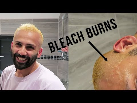 How NOT to bleach your hair! MY JOURNEY TO BLONDE :/