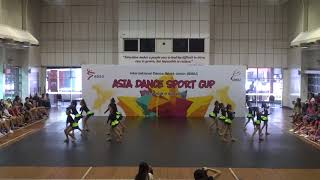 IDSU Asia Dance Sport Cup 2018 - 21 Chengdu Yundong Sports Club - Jazz Junior Large