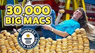 I've eaten 30,000 McDonald's Big Macs! - Guinness World Records