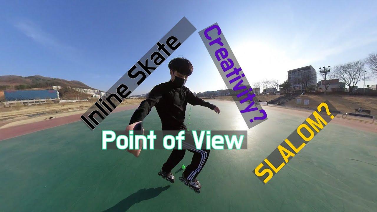 Creativity Training   Inline Skate   Slalom Log #3