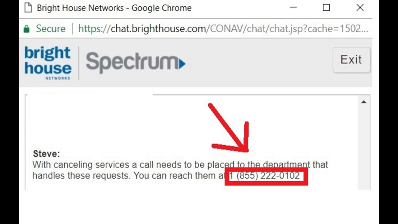 Great How To Cancel A Brighthouse / Spectrum Account?
