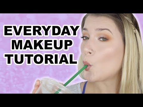 EASY EVERYDAY MAKEUP TUTORIAL thumbnail
