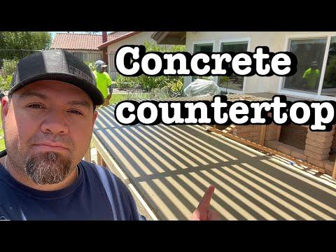 hqdefault - BBQ Island || Concrete Countertop || Time Lapse - Concrete Floor Pros
