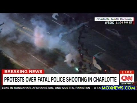 Large Police Brutality Protest In Charlotte North Carolina After More Fatel Police Shootings