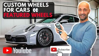 Custom Wheels for Cars | Featured Wheels | Aftermarket Tires | 3 Piece Wheels Rebuild | LOMA Wheels.