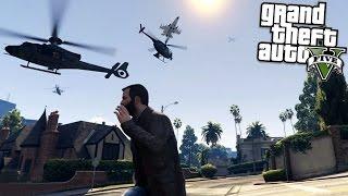 GTA 5 Mods ANGRY PLANES vs ANGRY TANKS