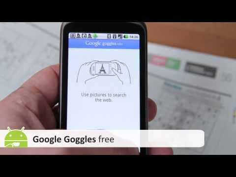 Google Goggles Android App review