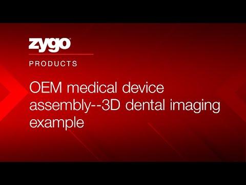 OEM Medical Device Assembly--3D Dental Imaging Example