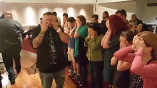 Blind Eyes opened! - Pete Garza Run With Revival