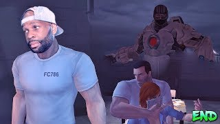 The Punisher Walkthrough Gameplay Part 15 - Ryker's Island - Game Ending