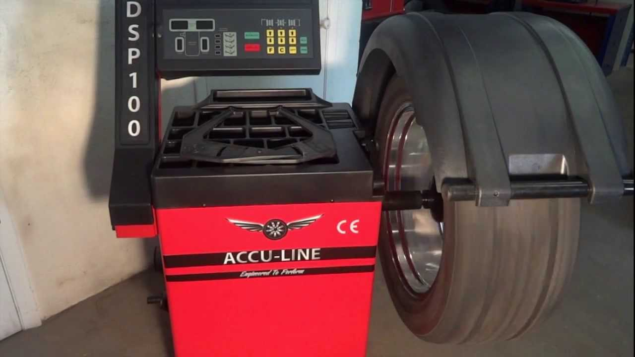 wheel balancer manual accu turn